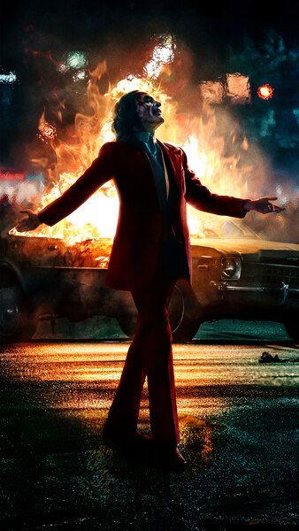 Joker 2019 Movie Poster Joaquin Phoenix 8K HD Mobile